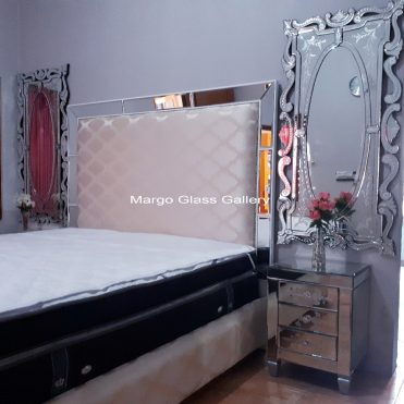 Bedroom Furniture Mirrored Set